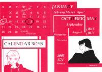 Fullmetal Alchemist Dj - Calendar Boys